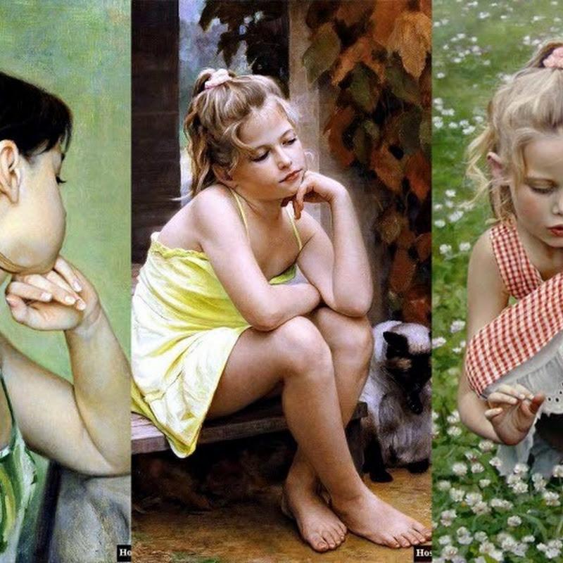 Beautiful Paintings by Slava Groshev