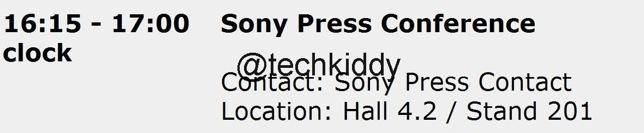 Sony i1 Honami Press Conference