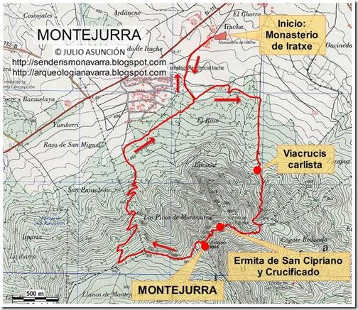 Ruta Montejurra - Estella