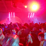 indoor RAVE at anime north 2013 in Toronto, Ontario, Canada