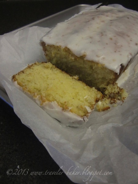 Lemon Pound Cake Fondente 3