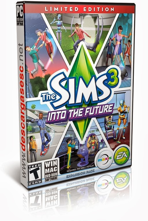 The Sims 3 Into The Future-FLT-pc-cover-box-art-www.descargasesc.net