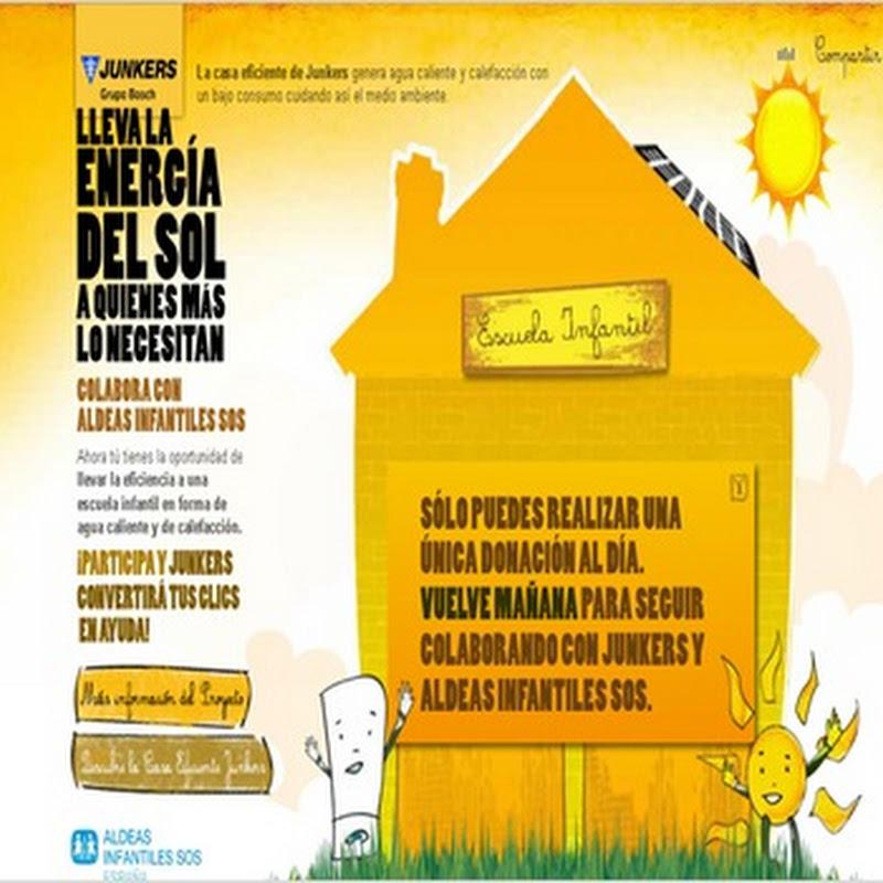 Donar energia solar a aldeas infantiles SOS un acto de solidaridad