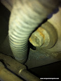 Cracked vacuum line
