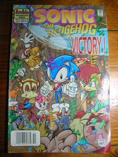 Sonic The Hedgehog comics