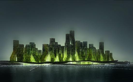 Proyecto de Ciudad flotante que transforma el CO2 en biodiesel
