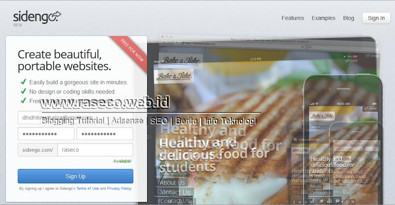 Cara Mudah Membuat Website dengan Sidengo