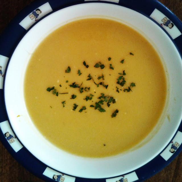 Healthy breakfast Pumpkin Soup Recipe Resepi Sup Labu Ala Barat untuk Sarapan Sihat