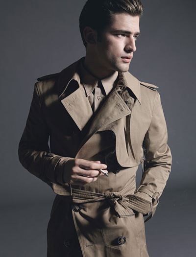 Sean O'Pry @VNY by Milan Vukmirovic for Details, March 2012.