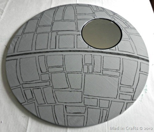 Death Star Mirror by Mad in Crafts| allonsykimberly.com