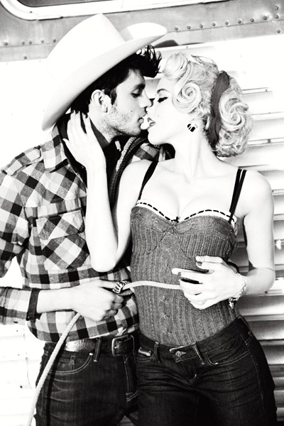 Silviu Tolu @ Red + Amber Heard by Ellen von Unwerth for Guess F/W 2011