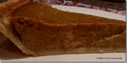 A Walk in the Countryside: Libbey's Pumpkin Pie