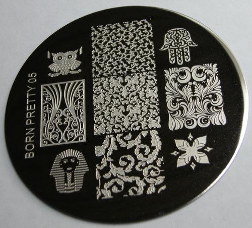 BornPrettyStore stamping plate 05