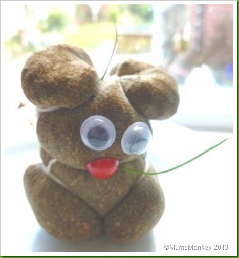 poo bear. grass head
