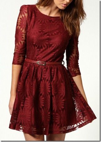 Ruth lace dress