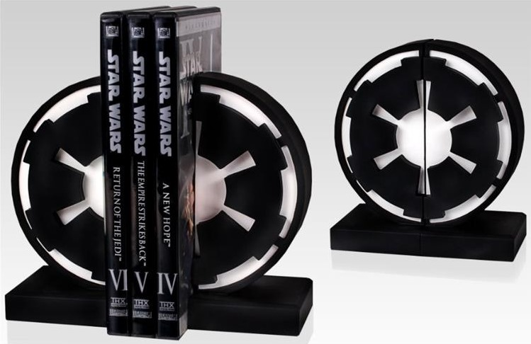 Star Wars Imperial Seal Bookend Set from Big Bad Toy Store