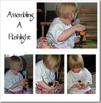 Assembling a Flashlight 2