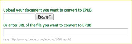 แปลงไฟล์เอกสารเป็น epub
