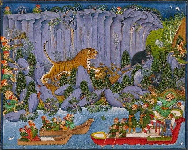 Kota Ram Singh II Tiger Hunting
