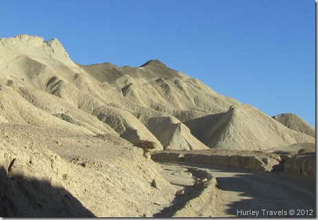 Death Valley's Twenty Mule Team Canyon