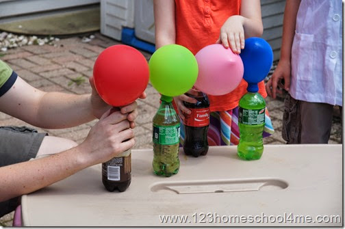 Inflate balloons with Pop Rock Candy Experiment