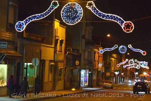 Glória Ishizaka - Luzes de Natal 2013 - Porto  12  Rua Carvalhido