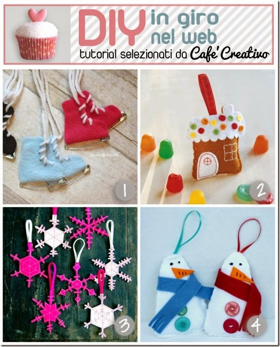 cafecreativo-tutorial decorazioni natale feltro - christmas ornament felt