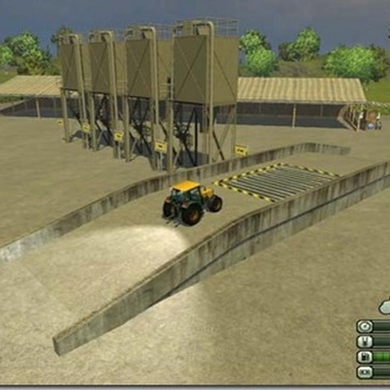 Farming simulator 2013 - Bunker placeable v 1.0