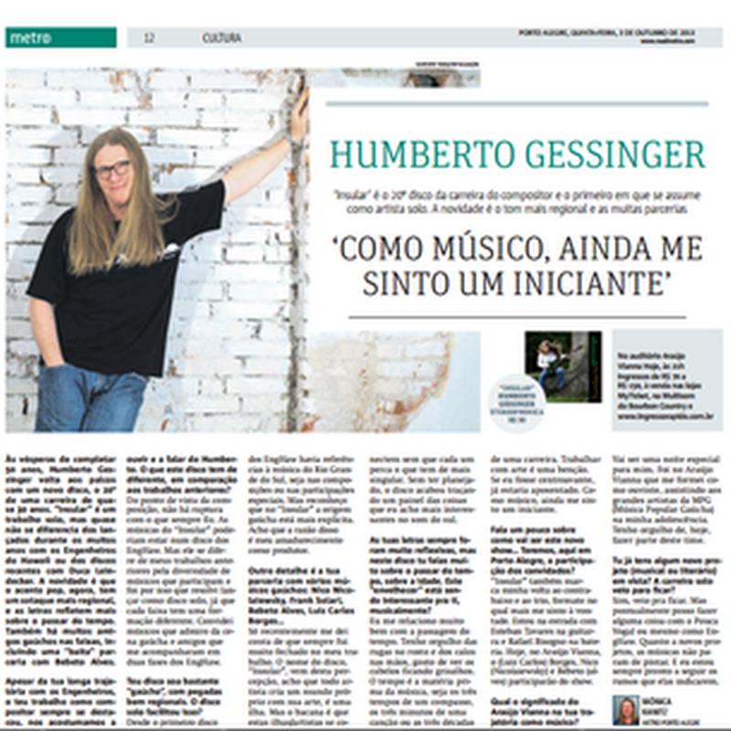 Leia entrevista com Humberto Gessinger