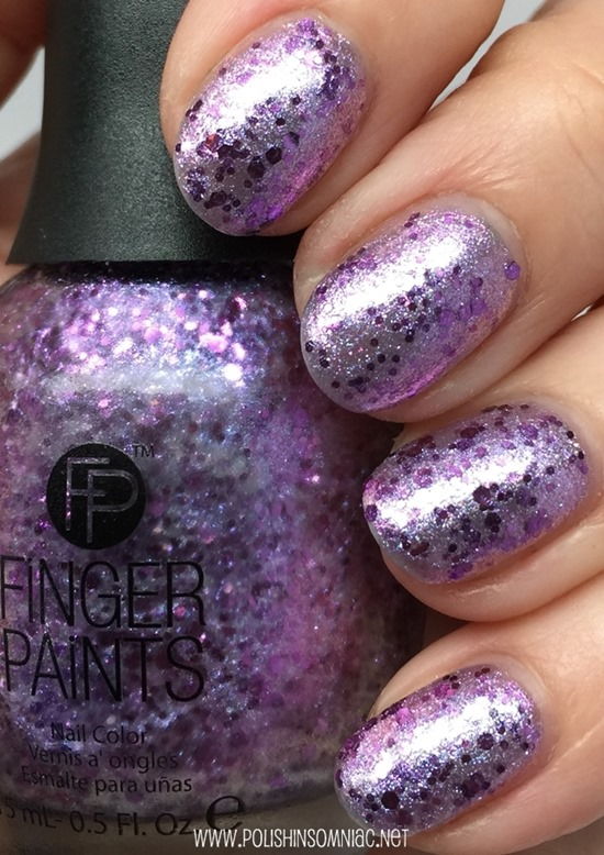 FingerPaints Violaceous Vace (over Paint the Town Purple)