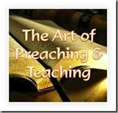 Preaching and Teaching the art
