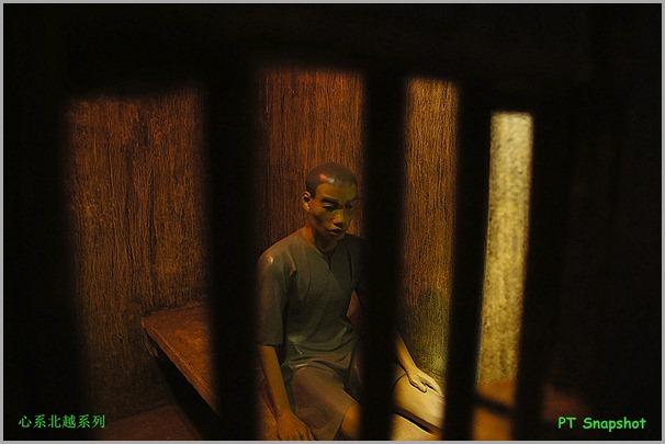 牢房内的男囚犯