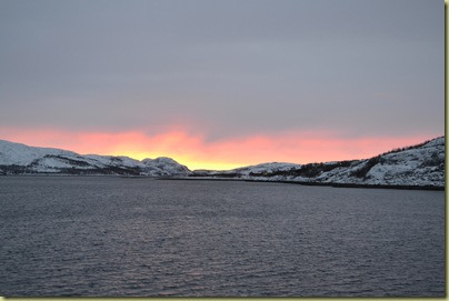 Dawn at Kirkenes