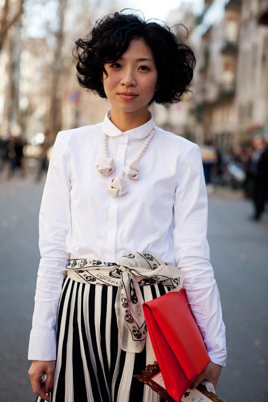 Milano-Stripes-black&white-street style