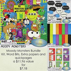 Moody Monsters Bundle