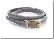 Diane von Furstenberg Snake Print Belt