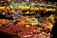 Market on La Rambla