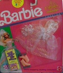 Barbie Ice Capades Show Outfit 1989