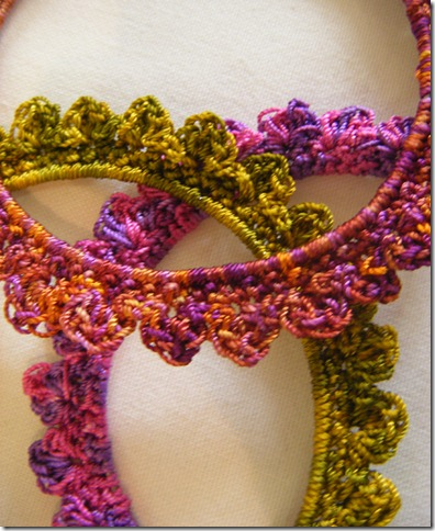 variegated crochet bangles 2