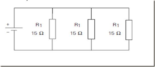 electrical engineering: series and parallel resistors