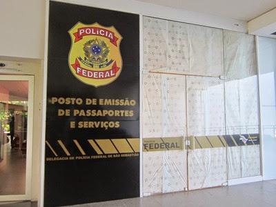 Polícia Federal (PF) de São Sebastião (SP)