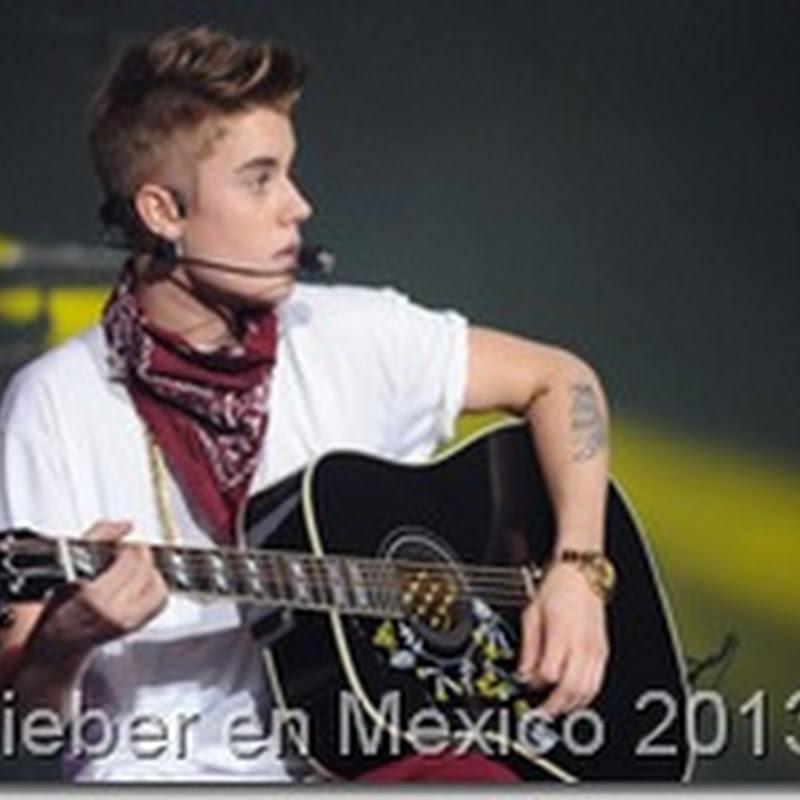 Justin Bieber en Mexico