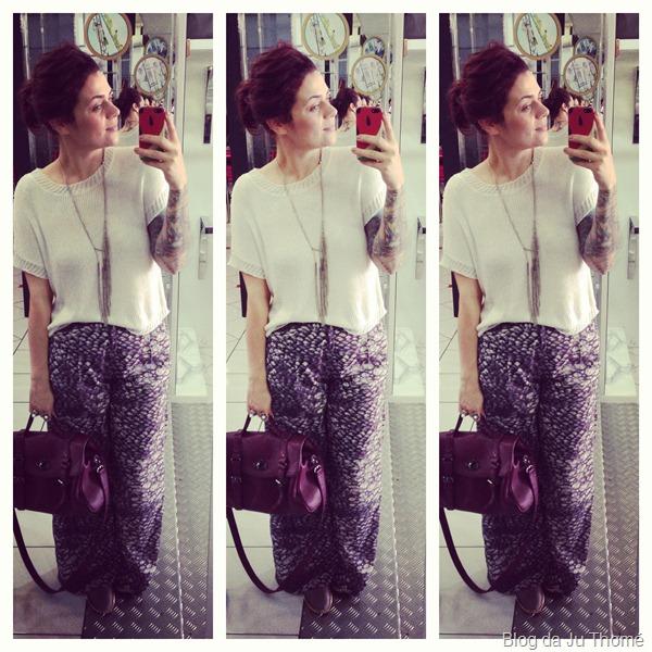look com calça pantalona estampada e tricot off white (1)