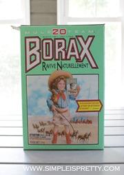 Borax 20 Mule Team www.simpleispretty.com