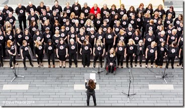 Voicerox Choir, Southbank.