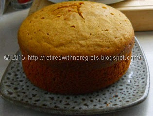 Slow-Cooker Pumpkin Cake - Gluten Free -   fresh from crockpot