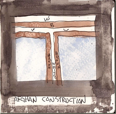 Afghan Construction Sketch