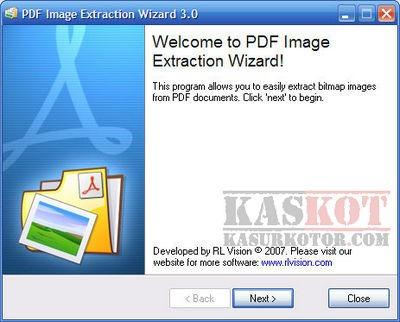 Ekstrak Gambar dari File PDF