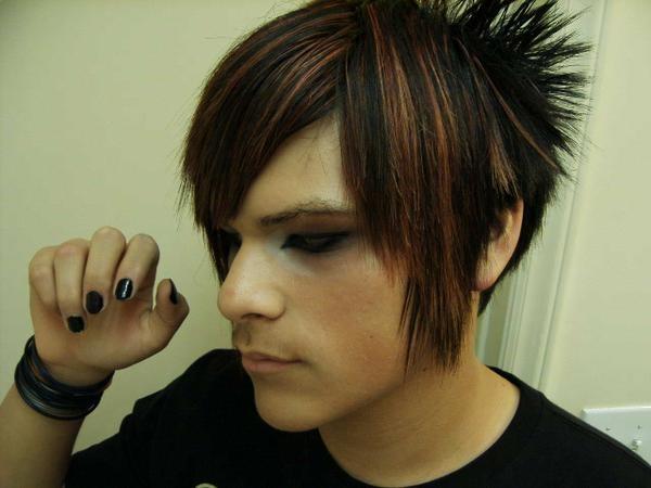 Short Emo Boys Hairstyles Fashion Trends