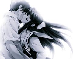 anime amor casal beijo apaixonado menin menino paixão amor nós